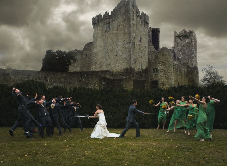 Game of Thrones wedding picture