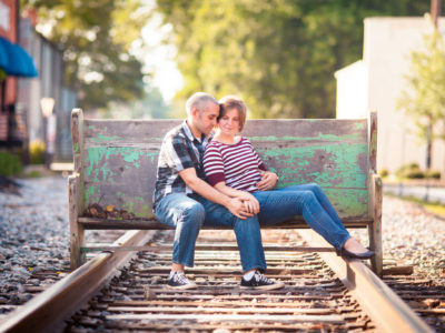 Greenville, SC Portraits - Julia + Jeremy