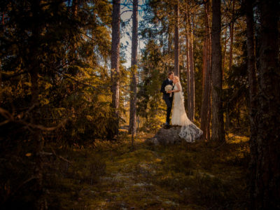 Ceremony and Wedding Portraits in Kirkkoniemi: Markus + Marianna