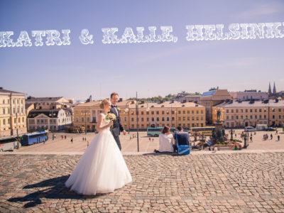 Hääkuvaus Helsinki: Tuomiokirkko häät: Katri + Kalle