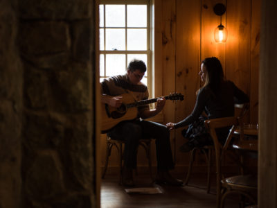 An intimate proposal: Holly & Rich in Bluemont, VA