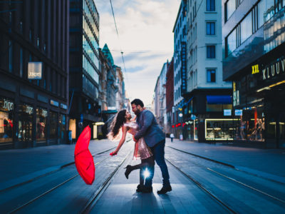 Engagement shoot in Helsinki: Hadassah & Sabin