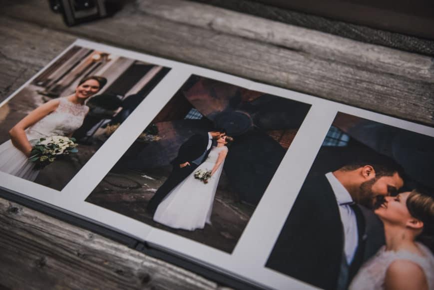 elegant wedding photo albums