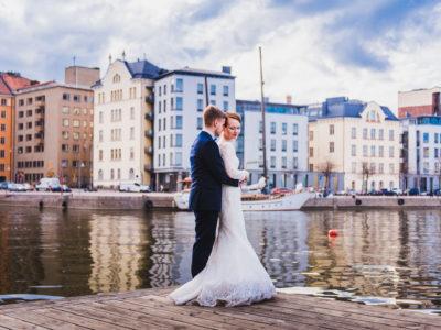 Katajanokan kasino wedding - Emmi & Simo